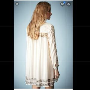 Kate Moss for TopShop Embroidered Smock Dress